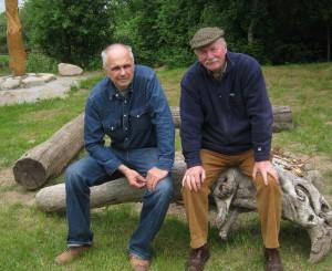 Jau dešimtmetį Šv. Pranciškaus onkologijos centre savanoriauja Vaidotas Baltiejus ir David Holliday
