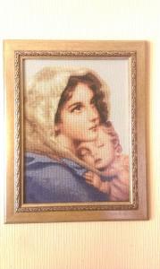 Daiva Katiševskaja. Siuvinėtas paveikslas