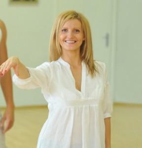 Pramoginio šokio terapijos vadovė choreografė  Loreta Daujotienė
