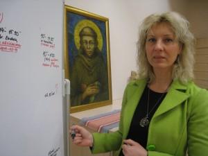 Šv. Pranciškaus onkologijos centro socialinės veiklos vadovė Irena Baltiejienė