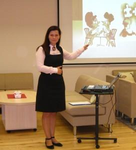 Lektorė psichologė Lilija Vitkauskienė