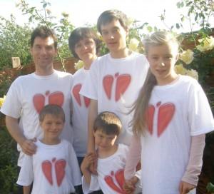 Solveigos ir Paul Knight šeima