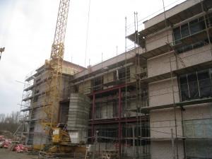 Vyksta Šv. Pranciškaus onkologijos centro antrosios dalies statybos darbai
