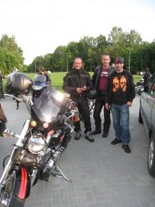 Šv. Pranciškaus onkologijos centro dvasinis asistentas br. Evaldas Darulis OFM su kelionės draugais