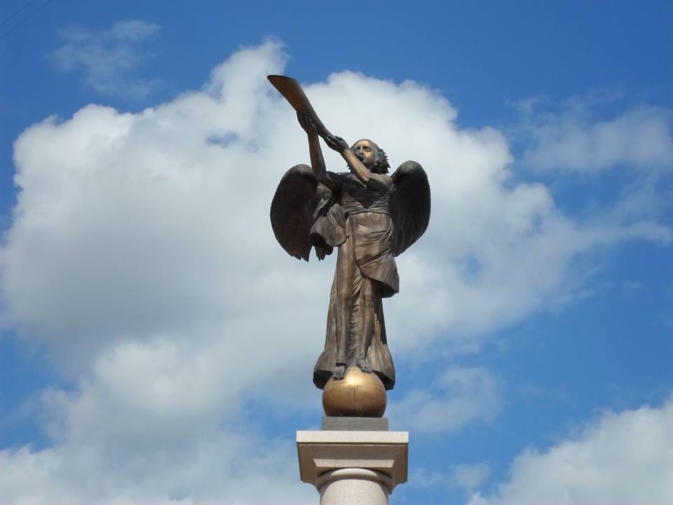 Užupio angelas.  Nuotrauka Daivos  Janavičienės